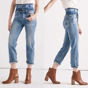 Lucky Brand Remade Lucky Pins Stacked Waist Jean 8